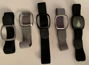 5 GoWear Fit Armbands Brand New (Black & Gray) and User Guide