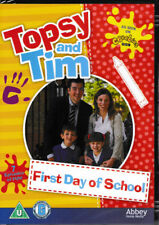 Topsy and Tim - First Day of School - DVD - Brand New & Sealed