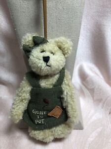 Boyds Bear Plush Ornament Terri Cotta Bear