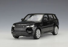 Welly 1:24 Range Rover Sport Diecast Model SUV Car Black New in Box