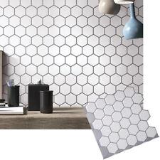 3D Autoadesivo Cucina Piastrelle Muro Bagno Mosaico Adesivo Buccia e Bastone