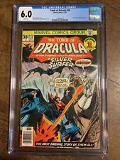 Tomb of Dracula #50 (Marvel, 11/76) CGC 6.0 White Pages Silver Surfer BLADE app