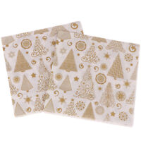 20PCS/set Napkins Disposable Napkin Christmas tree Tissues Xmas De jv