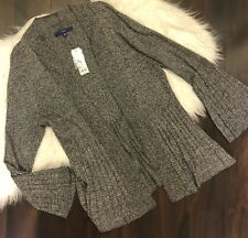 NWT Womens Apt 9 Gray Bell Sleeve Sweater. XL