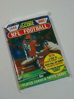 1990 NFL Football Score Series 1 Trading Card Pack of 17 Cards