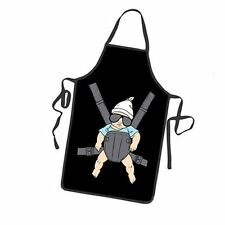 Creative Funny The Hangover Cool Baby in Sunglasses Party Cooking Kitchen Apron