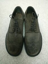 Emporio Armani Brown Suede Brogues Shoes Made in Italy Size UK 7 EUR 41