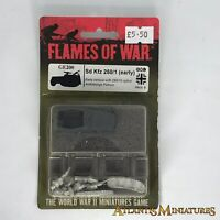 WW2 Axis SD KFZ 250/1 Halftrack - Blister - Flames of War C1597