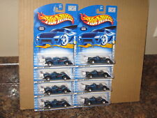 Hot Wheels Lot of 8 Riley & Scott MK III Base Wheel Variation 2001 First Edition