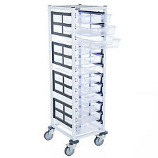 Single Column 12 Level A4 Medical Trolley