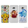 Disney Roi Lion Gel Coque pour Samsung Galaxy S6 S7 EDGE S8 PLUS Etui Case
