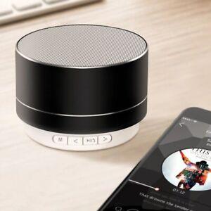 Wireless Bluetooth Audio Small Steel Subwoofer Mini Portable Gift Speaker
