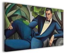 Quadri moderni famosi Tamara de Lempicka vol I stampa su tela canvas arredo