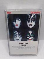 Kiss Dynasty Cassette Tape 1979