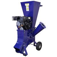 Trituradora de Ramas 6.5 CV Gasolina para Destrucción de Ramas, Ramitas y Hojas