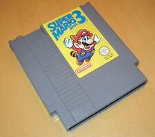 Nintendo NES 8 Bit PAL-A UKV spel game SUPER MARIO BROS 3 brothers cart VG