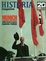 Revue militaire Historia Munich veillée d'armes no 153 1970 2ème guerre mondiale