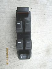 04 - 12 GMC CANYON CREW CAB 4D FRONT DRIVER SIDE MASTER POWER WINDOW SWITCH