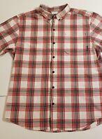 Columbia Mens Size Medium Plaid Button Down Shirt