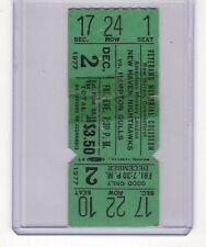 HAMPTON GULLS vs NEW HAVEN NIGHTHAWKS 1977-78 AHL HOCKEY TICKET STUB SUPER RARE!
