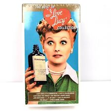 The Best Of I Love Lucy Collection Includes Volume one and Two VHS Video Tapes