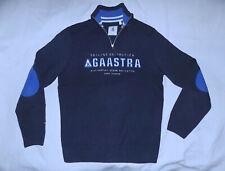 GAASTRA Limited Ed. 1/2 Zip Sweater Cotton/Poly Acrylic-Size Medium-Navy-Great!!