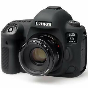 For Canon EOS 5D Mark IV 5D4 5D3 Silicone Rubber Protective Body Cover Case