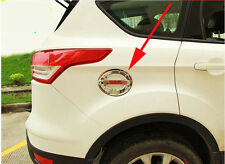 Oil Tank Cover Gas Cap Cover trim for 2013-2018 FORD Escape kuga Molding Chrome