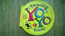 Amazing Yoyo Tricks Book, Collectors Item, Free Stickers,20 Steps by Step Tricks