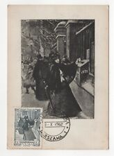 """1962 POLAND First Day Cover KAMINSKI PAINTING / ART """"The Decisive Moment"""" SG1340"""
