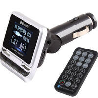 E02D FM12 Auto KFZ MP3 Player FM Transmitter USB Stick TF Karte Bluetooth / AUX