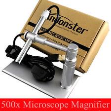 Andonstar 500X 2MP USB Digital Microscope Video webcam Magnifier Camera Stand