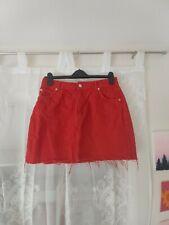 Topshop denim skirt size 12