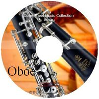 Massive Professional Oboe Sheet Music Collection Archive Library on DVD