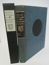 LIFE & VOYAGES OF CHRISTOPHER COLUMBUS, Limited Editions Club in Slipcase