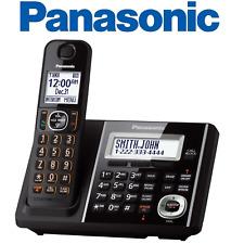 NEW Panasonic KX-TGF340B Cordless Phone and Answering Machine with 1 Handset