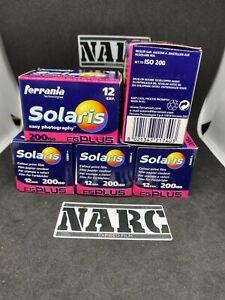 5x Ferrania Solaris FG Plus 200 expired film 35 film