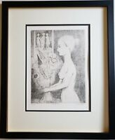 JEROME KAPLAN Original Pencil SIGNED Etching with Aquatint Limited Edition AAA