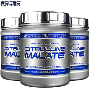 CITRULLINE MALATE 90 CAPS. Energy Booster Nitric Oxide Synthesis Muscle Pumps