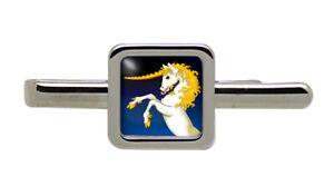 Unicorn Square Tie Clip