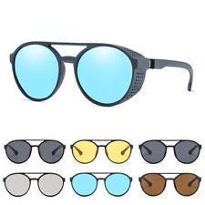 Campbell Cooper New Sunglasses Steampunk Cyber Fantasy Glasses Mirror Blue