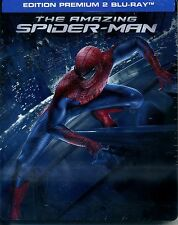 THE AMAZING SPIDER MAN      2 bluray  steelbook    neuf  ref 02091636