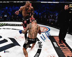 Michael Venom Page MVP Signed 8x10 Photo BAS Beckett COA Bellator MMA Picture 6