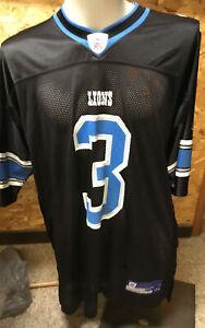 Detroit Lions Jersey #3 Joey Harrington Black Jersey - 2XL