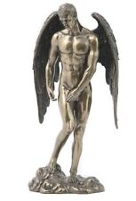 Male Nude Angel Sculpture Winged Statue Figure  *GREAT GIFT *WELL MADE