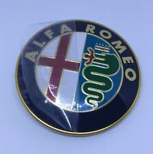 "ALFA ROMEO MILANO/GTV6/164/SPIDER 75mm EMBLEM  ""NOS"""