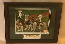 San Francisco Giants Field Celebration 2014 World Series Champions Framed Photo