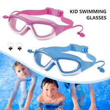 Kinder Schwimmbrille Taucherbrille UV-Schutz Anti-Beschlag Weich DE LR