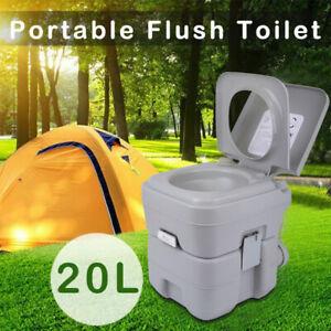 Toilettes Portable WC Chimique 20L Pour Sports Camping Randonnée