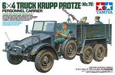 Tamiya 35317 1/35 Scale Military Model Kit German Kfz.70 6x4 Truck Krupp Protze